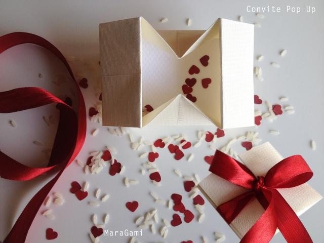 convite pop up casamento 2